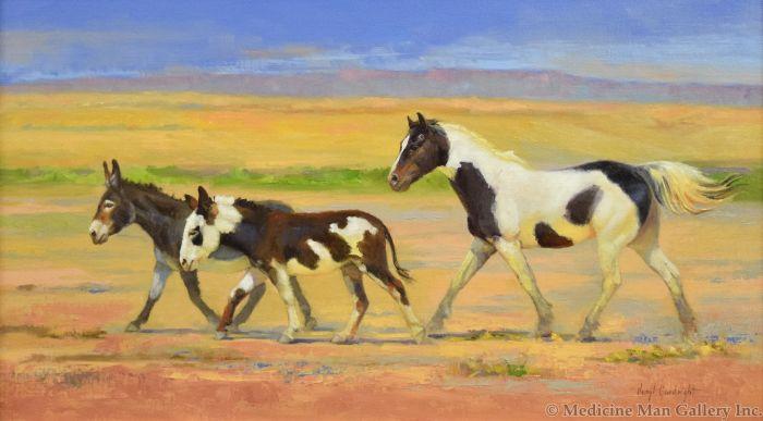 Veryl Goodnight - Desert Paints