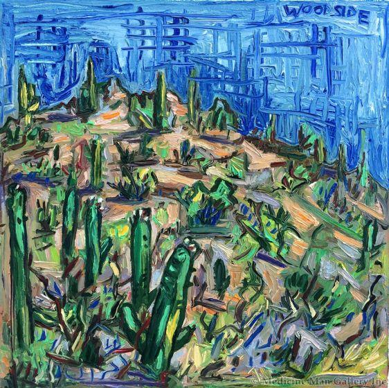 James Woodside - Hill Near Tucson (PLV92383-0717-006)