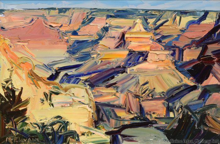 Louisa McElwain (1953-2013) - Desert Temple
