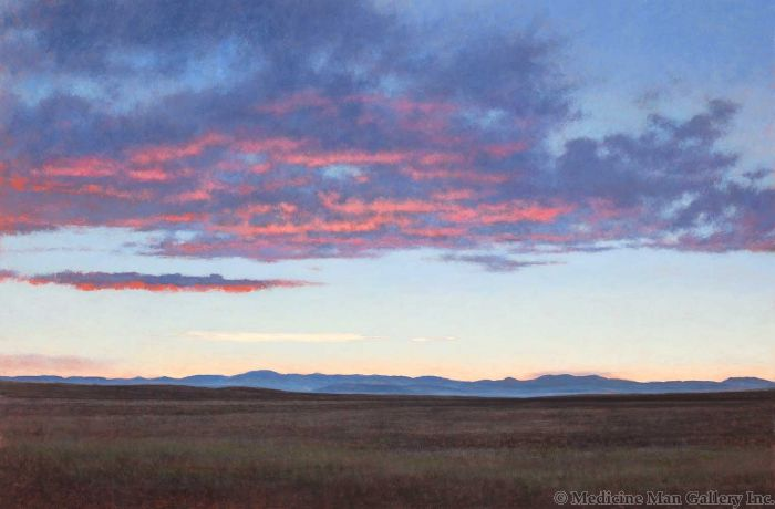 Jeff Aeling - Sunset Hartsel, Colorado