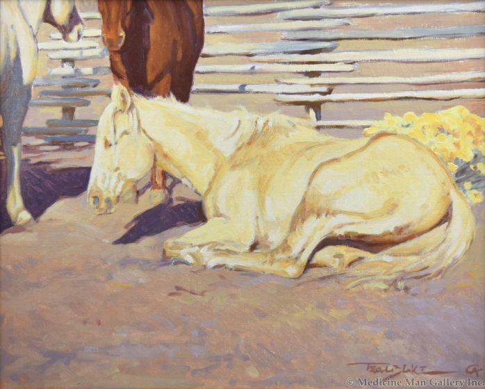 Teal Blake - Sunnin' Ponies