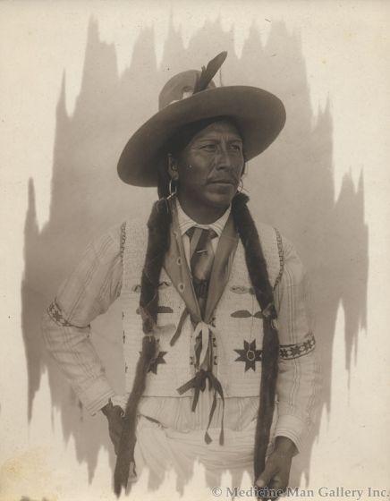 William Pennington (1874-1949) - Portrait of an Indian Man attributed to Pen-Dike Studio (M1445L)