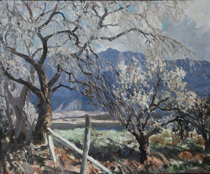 SOLD Fremont Ellis (1897-1985) - Orchard of Bloom