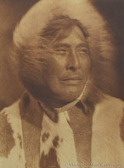 Edward S. Curtis (1868-1952) - Nuktaya, King Island