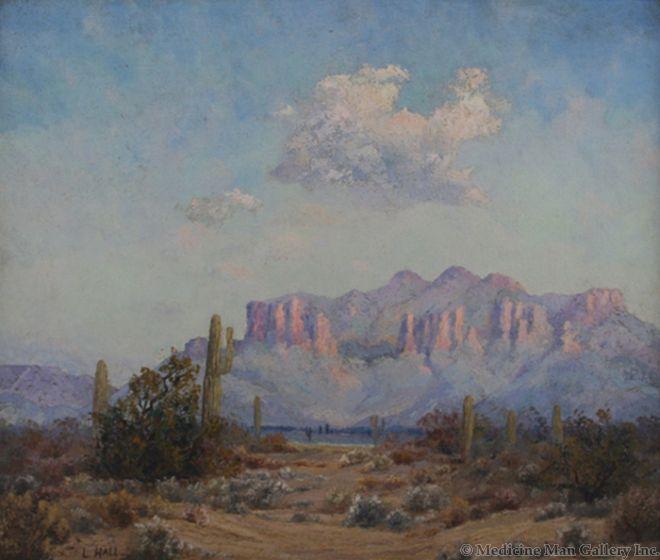 SOLD Leola Hall Coggins (1881-1930) - Superstition Mountains, Apache Junction, AZ
