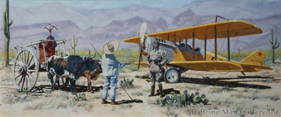 Fred Fellows - Dependence on Foreign Oil (Giclee Print on Canvas)
