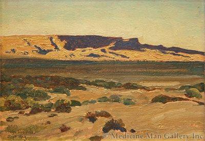 Maynard Dixon (1875-1946) - SOLD - Hopi Reservation, Arizona