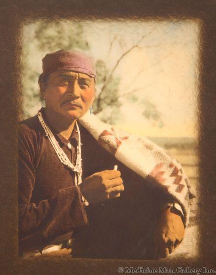 Thomas Bate - Navajo Man (PDC1593)