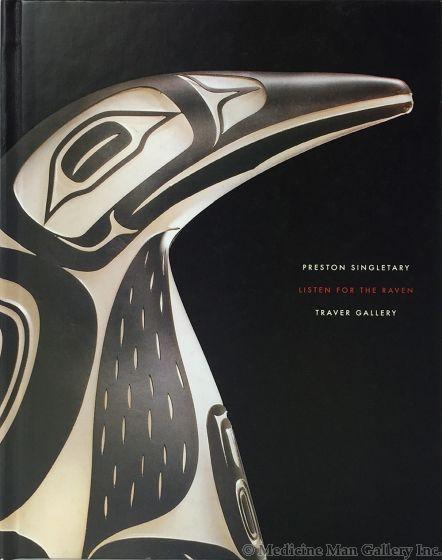 Listen for the Raven - Preston Singletary at Traver Gallery