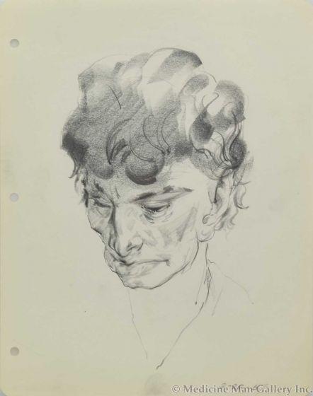 Ralph Brownell McGrew (1916-1994) - Portrait, August 28, 1957 (PDC90536-1220-063)