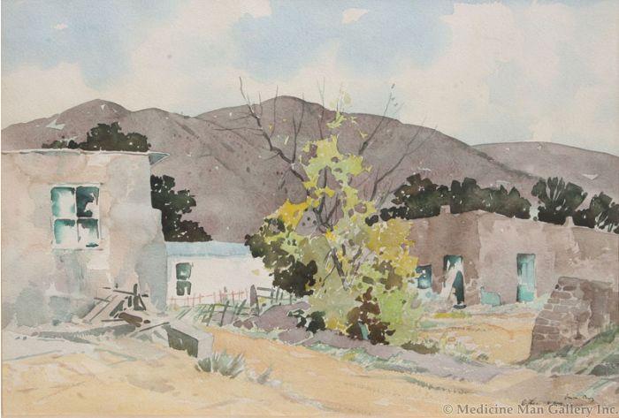 SOLD Arthur W. Hall (1889-1981) - Santa Cruz