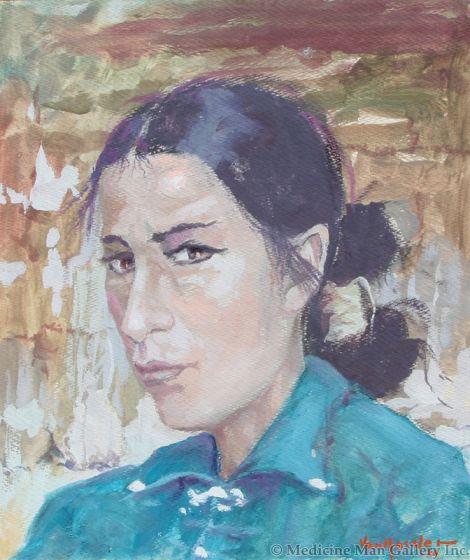 SOLD Carl von Hassler (1887-1969) - Navajo Woman