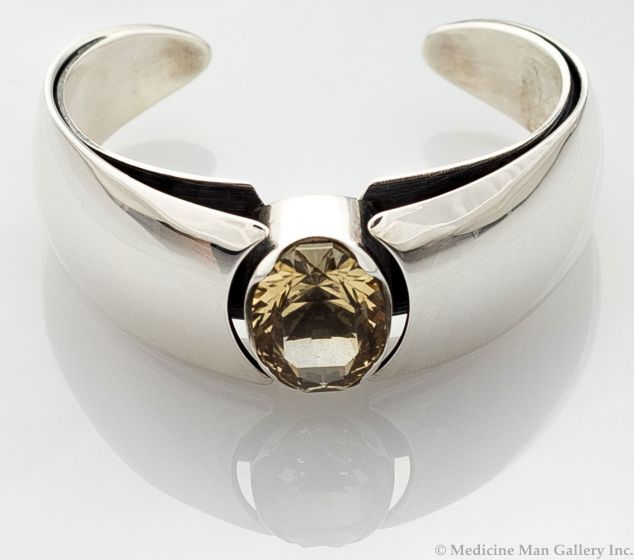 "Sam Patania - ""Isla Flotante"" Couture Citrine and Sterling Silver Bracelet"