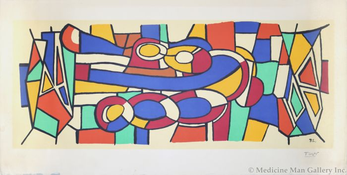 Fernand Leger (1881-1955) - Untitled Abstract (PDC90623A-0321-005)