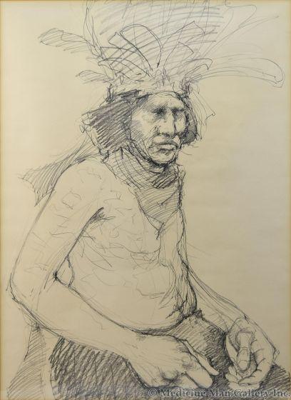Paul Pletka - Indian Portrait