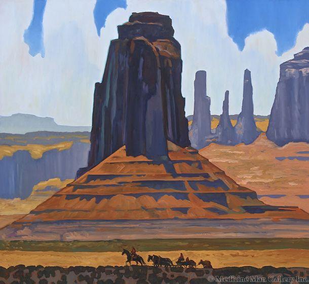 SOLD Dennis Ziemienski - Monument Valley