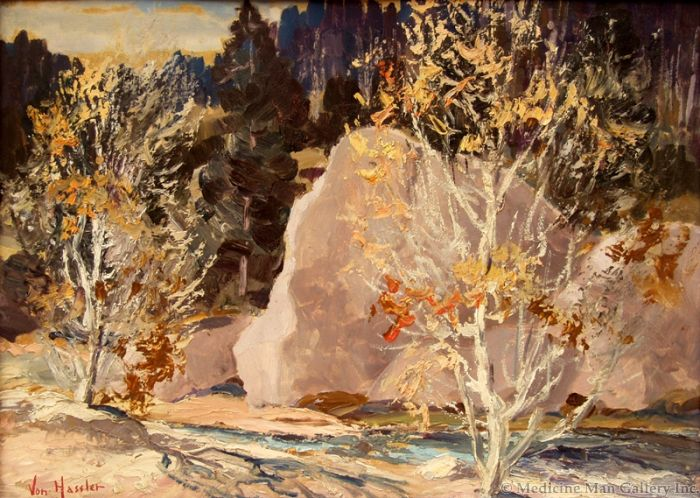 SOLD Carl von Hassler (1887-1969) - Fall Colors