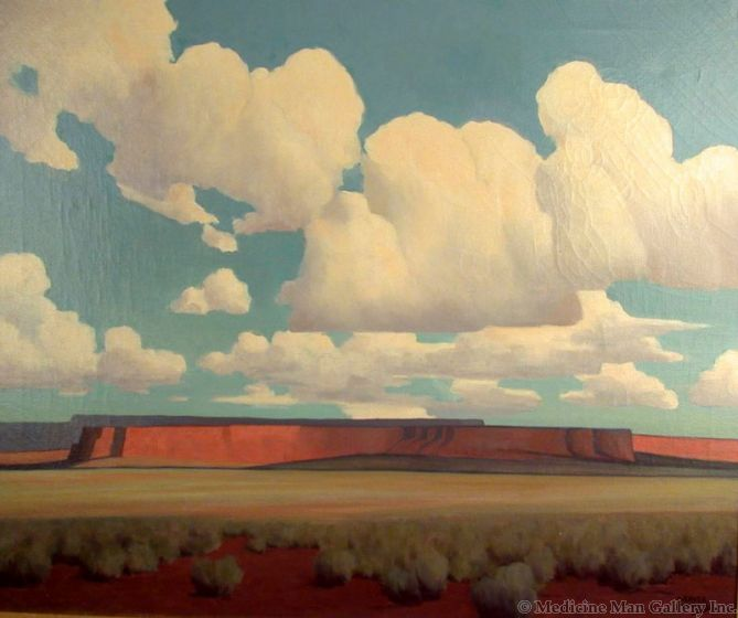 SOLD Harold Buck Weaver (1899-1961) - Arizona