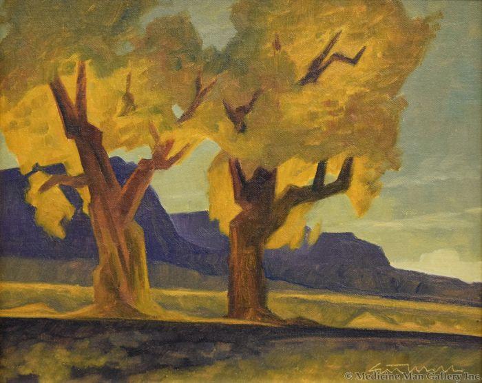 Ed Mell - High Desert Cottonwoods