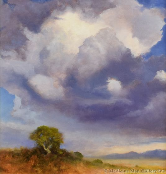P. A. Nisbet - Storm at Pecos 1