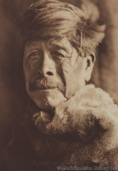 Edward S. Curtis (1868-1952) – A Chukchansi Yokuts