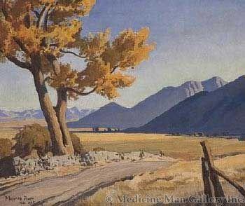 Maynard Dixon (1875-1946) - SOLD - Limits of Deseret