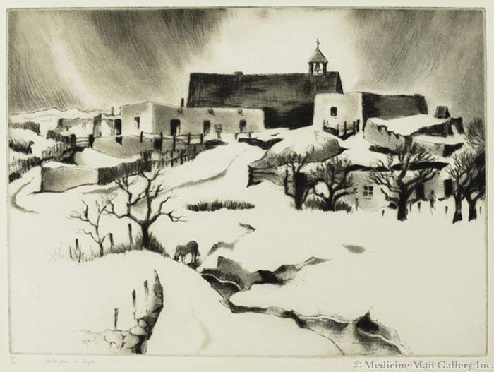 SOLD Gene Kloss (1903-1996) - Yesteryear in Talpa