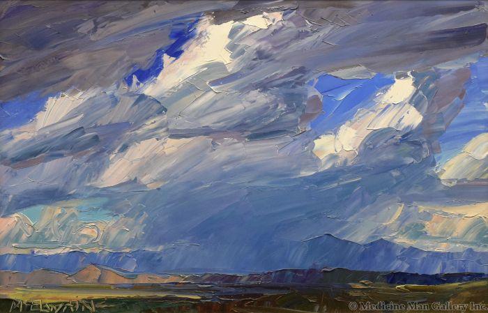 Louisa McElwain (1953-2013) - Rain Storm