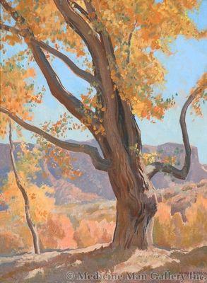 Maynard Dixon (1875-1946) - SOLD - October Morning