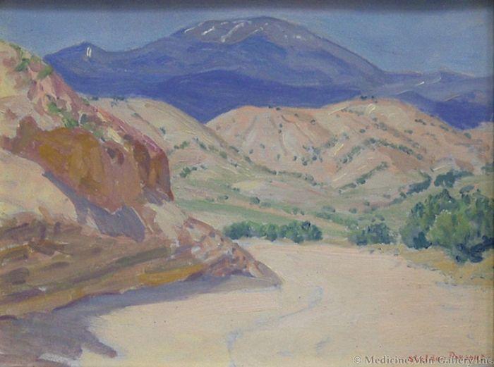 SOLD Sheldon Parsons (1866-1943) - Arroyo I