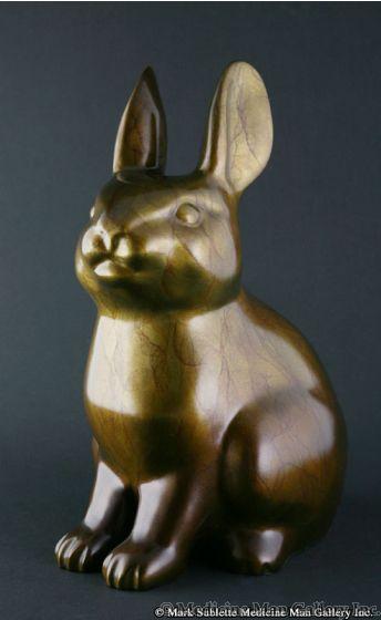 Doug Hyde - Spring Arrival, Bronze Edition of 50