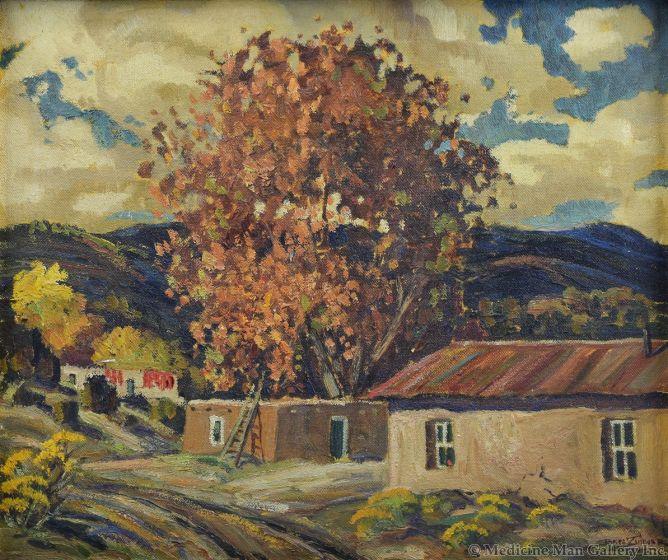 Ben Turner (1912-1966) - Golden Colors