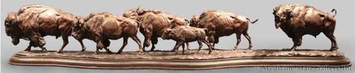 SOLD Richard Loffler - The Buffalo Trail