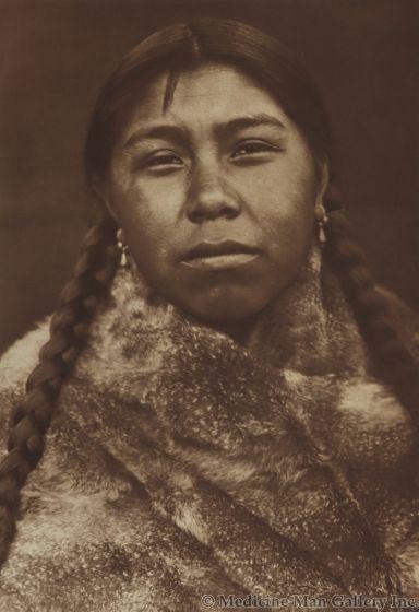 Edward S. Curtis (1868-1952) - Tsatsalatsa – Skokomish