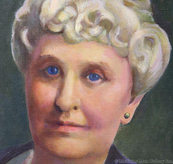 Jozef Bakos (1891-1977) - Portrait of Elder Woman (PDC1062b)