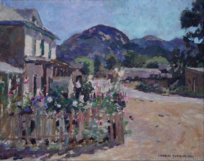 SOLD Charles Berninghaus (1905-1988) - Corner at Arroyo Seco