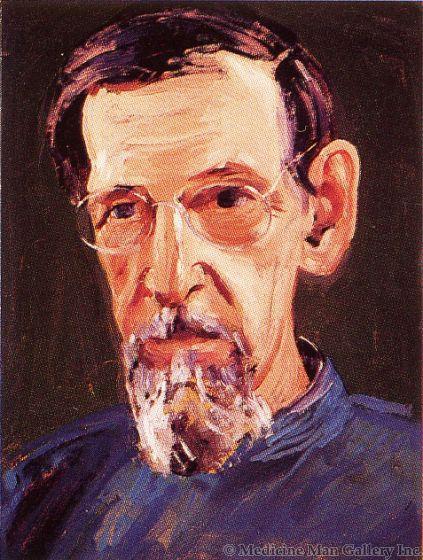 SOLD Conrad Buff (1886-1975) - Portrait of Maynard Dixon