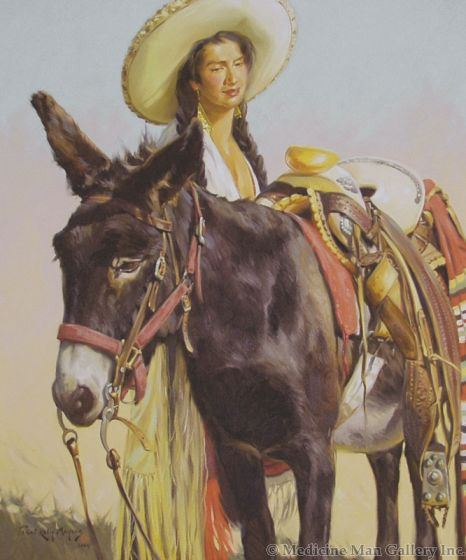 SOLD Terri Kelly Moyers - Gentle Companion