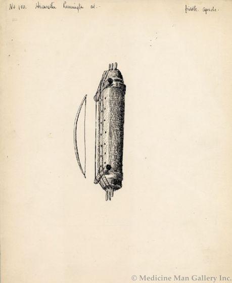 SOLD Frederic Remington (1861-1909) - No. 100 (Hiawatha) Apache Fiddle