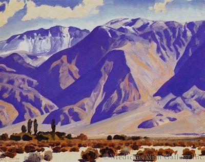 Maynard Dixon (1875-1946) - SOLD - Morning After Snow