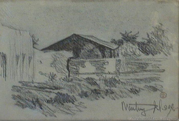 Maynard Dixon (1875-1946) - SOLD - Monterey