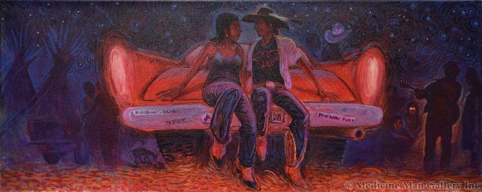 Shonto Begay - Pow-wow After Glow (Hearts Glow, on the Edge of Rainbow)