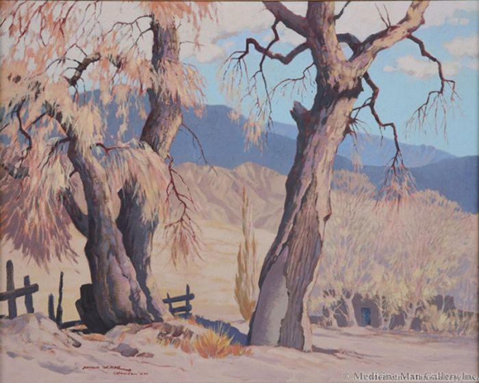 Arthur W. Hall (1889-1981) - Late Afternoon (PDC1400)