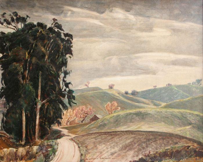 SOLD Laurence Hosmer (1895-1984) - January Road