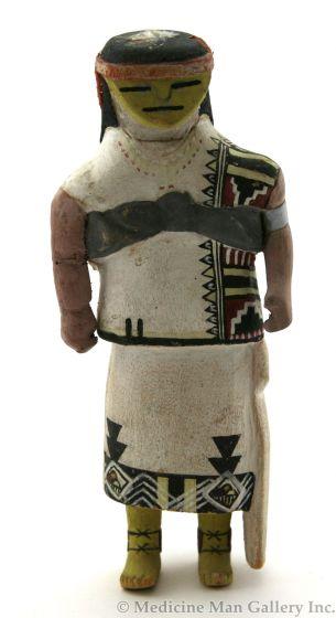 """Hopi Kachina, 1940s, 7"""" (K91052-1016-117)"""