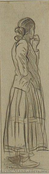 Maynard Dixon (1875-1946) - SOLD - Navajo Woman
