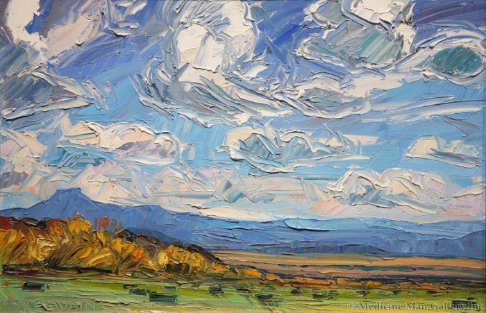 SOLD Louisa McElwain (1953-2013) - Ghost Ranch View
