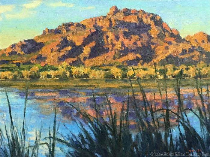 Gregory Hull - Red Mountain Sunset
