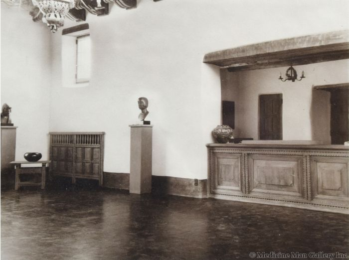 "Photograph by ""Bloom"" - Museum of Fine Arts, Santa Fe, NM, St. Francis Auditorium I, 1950s"