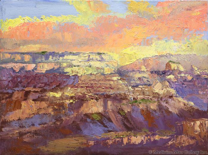 James Cook - Grand Canyon Study #1 (PLV90347B-0921-001)